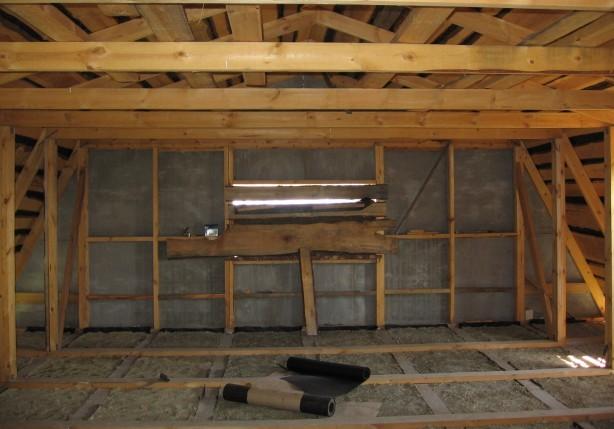 Как и из чего сделать потолок в деревянном одноэтажном доме