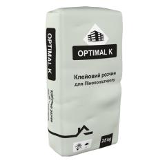 Клей для пінопласту Optimal К