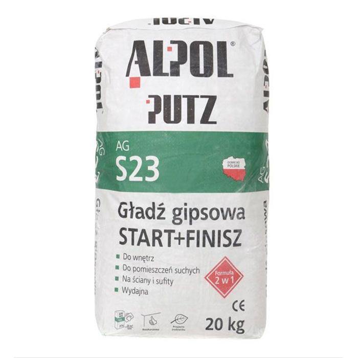 Шпаклівка Alpol 2 в 1 ALPOL Putz 20 кг