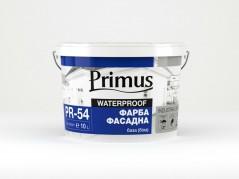 Фарба фасадна база (біла) 10л Primus