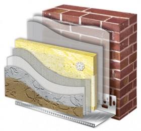 Системи  утеплення фасадів