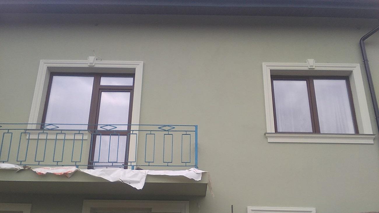 Фасадні роботи Куликів проект 3