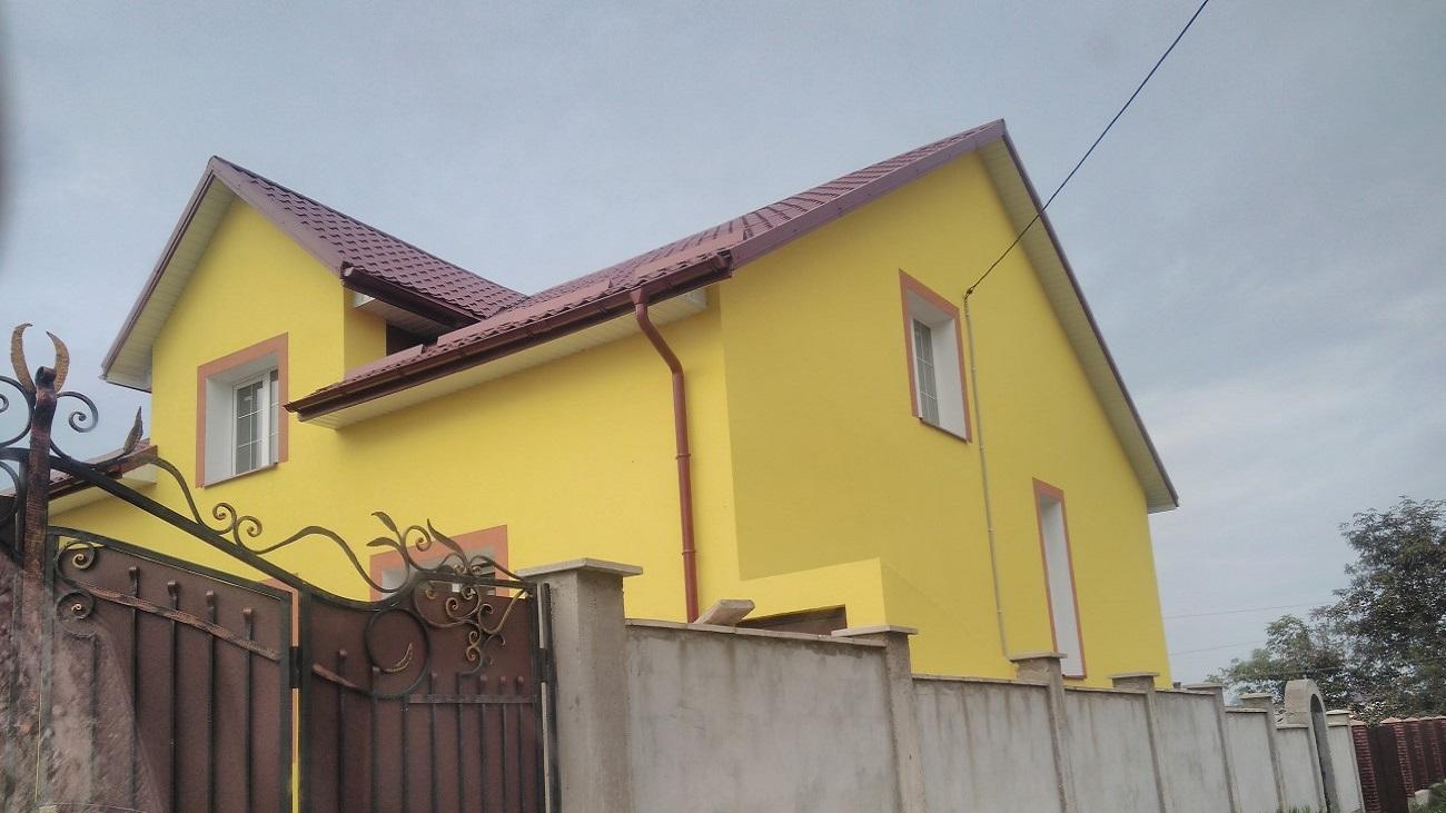 Фасадні роботи Куликів проект 4