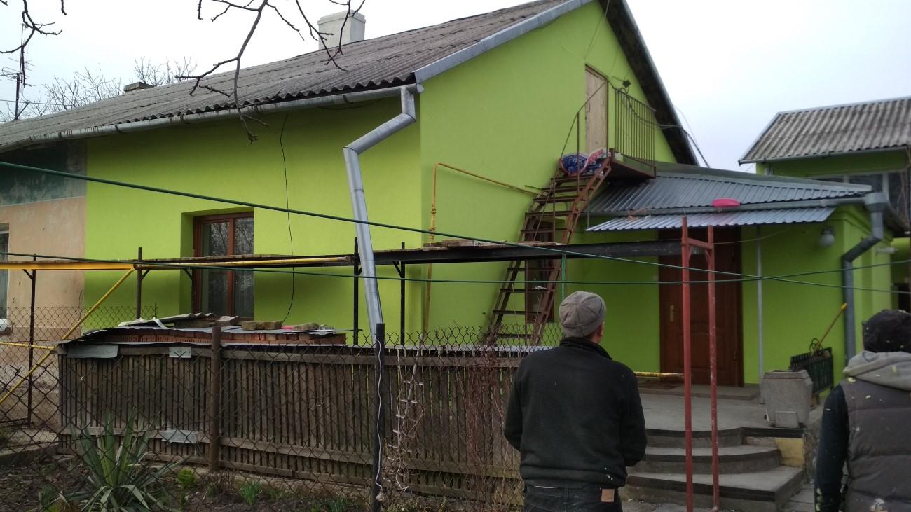 Фасадні роботи село Борщовичі