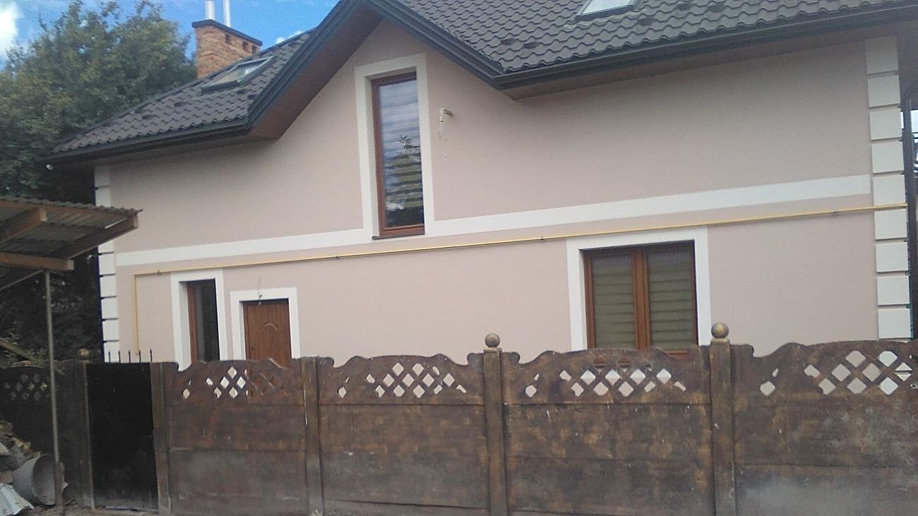Фасадні роботи село Боянець