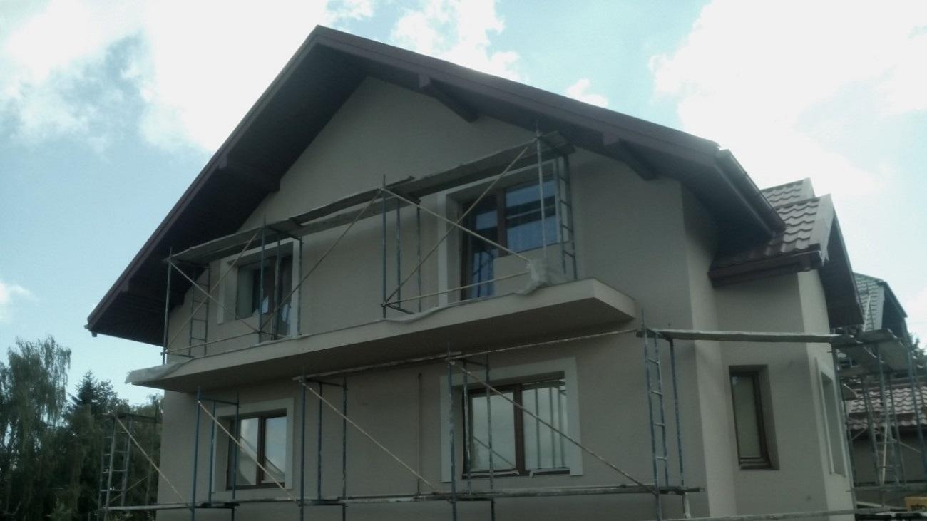 Фасадні роботи Жовква